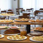 Colazione all'hotel La Residenza di Riccione