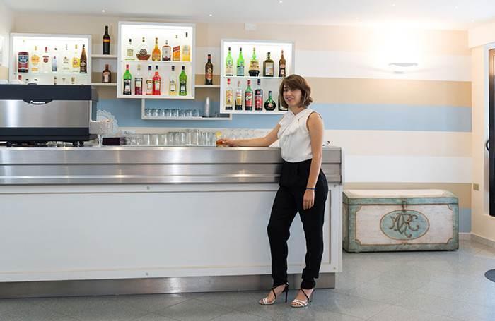 Hotel a Riccione con bar