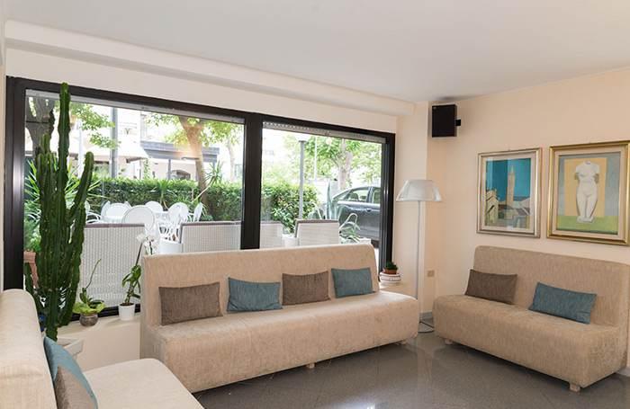 Hotel a Riccione 3 stelle con area relax
