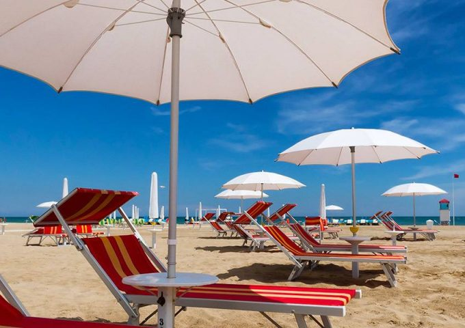 Half board holiday with beach facilities